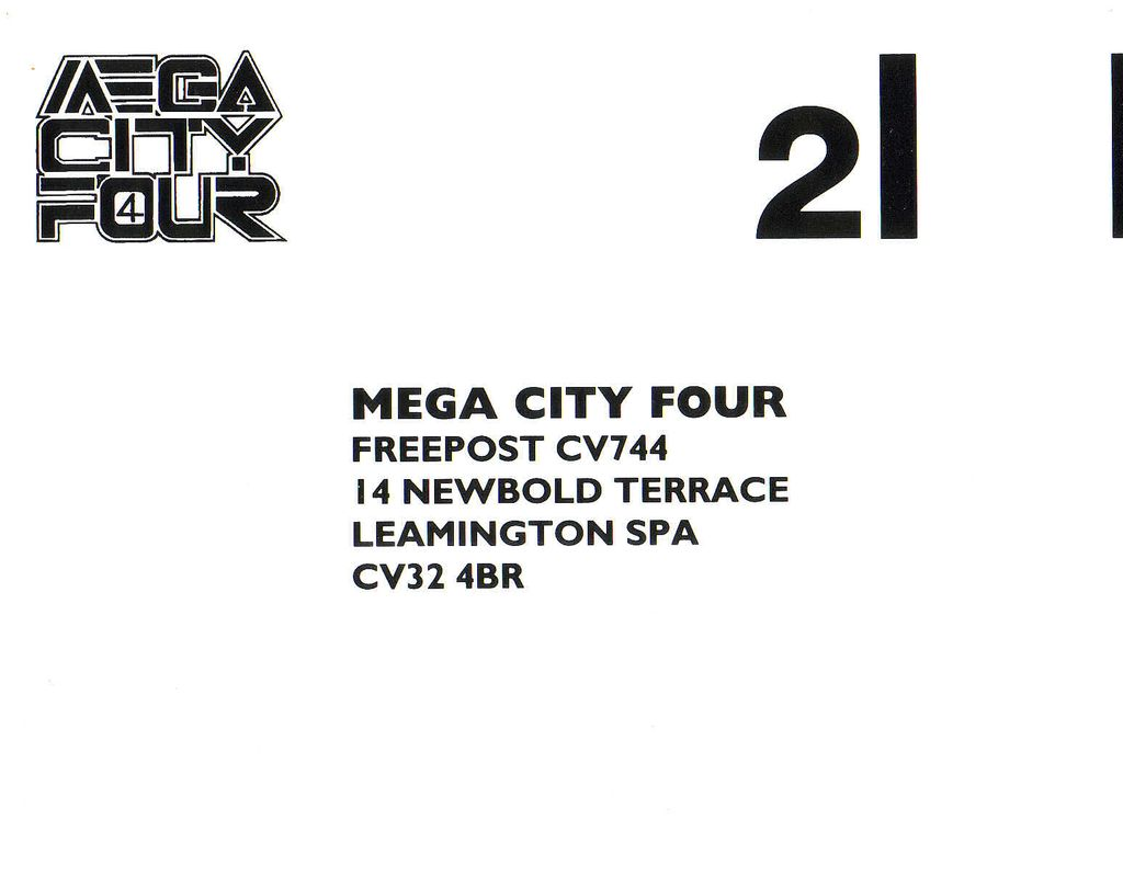 Mega City Four - Words That Say (Pre-Release)